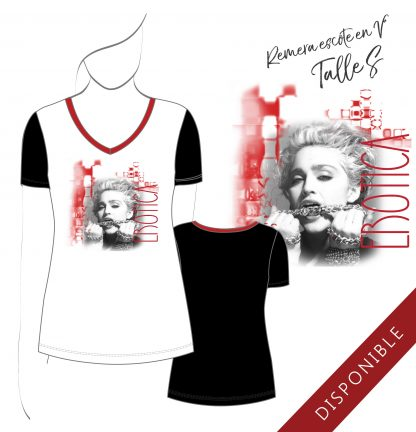 Remera de mujer Madonna