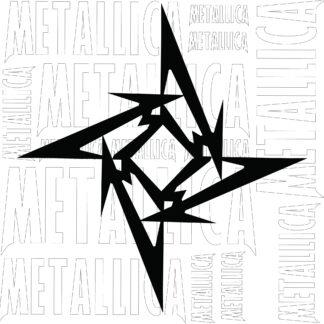 estampa metalica logo estrella