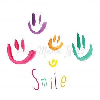 estampa smile