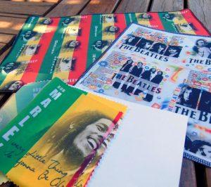 Diseños textiles Musica Internacional